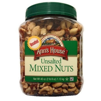 Ann's House Unsalted Mixed Nuts