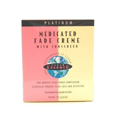 Clear Essence Medicated Fade Creme with Sunscreen 4 oz. (3-Pack) with Free Nail File