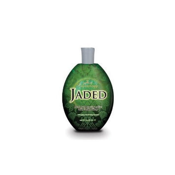 Australian Gold Jaded Tanning Lotion Dark Dual Bronzing Lotion with Coolant 13.5 oz