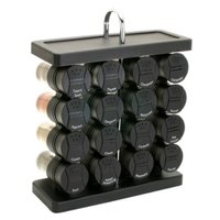 Olde Thompson 16-Jar Spice Rack - Wine