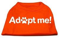 Ahi Adopt Me Screen Print Shirt Orange Lg (14)