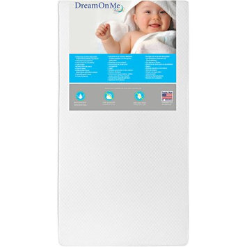 Dream On Me Lullaby 2-Sided Crib and Toddler Mattress