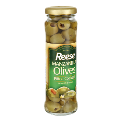 Reese Manzanilla Pitted Cocktail Olives