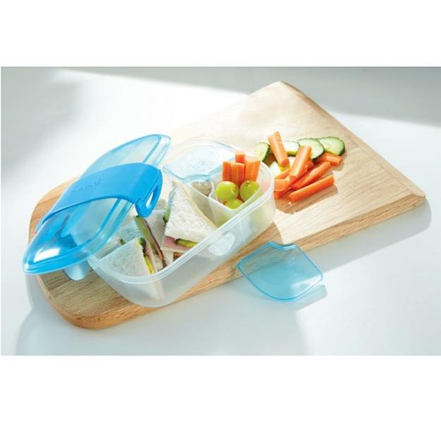 Munchkin Click Lock Bento Mealtime Set, 1 ea