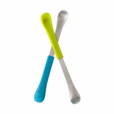 Boon SWAP Baby Utensil, Green/Blue, 1 ea
