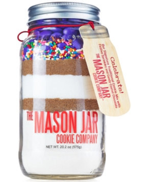 The Mason Jar Cookie Company Celebrate! Cookie Mix in Giftable Jar, Set of 2 Jars