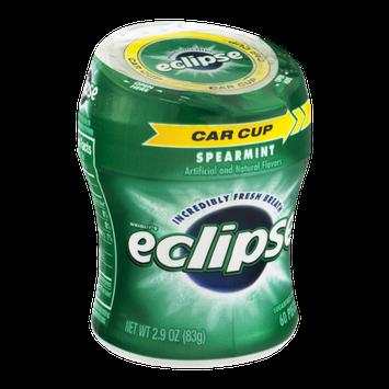 Wrigley's Eclipse Spearmint Sugarfree Gum - 60 CT
