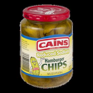 Cains Reduced Sodium Hamburger Chips