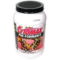 CytoSport Cytomax Pre-Formance High-Endurance Meal Replacement, Wild Berry, 3.08-Pound Jar