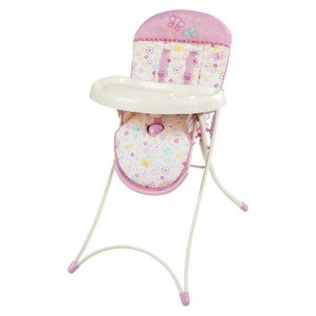 Bright Starts Flutter Dot High Chair - Pretty in Pink