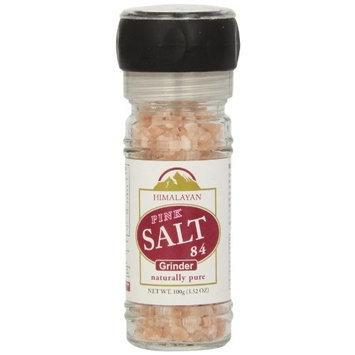 WBM Himalayan Chef Pink Salt Refillable Grinder, 3.53-Ounce