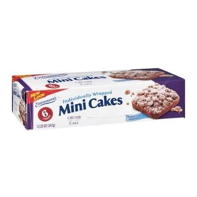 Entenmann's Crumb Cake Mini Cakes - 6 CT