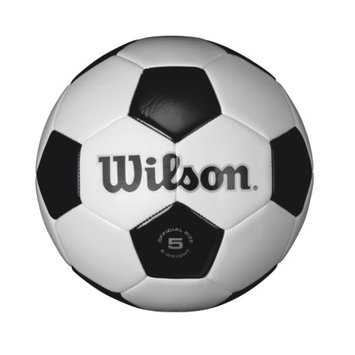 Wilson Sporting Goods Company Wilson Traditional Soccer Ball, Black/White, Size 5 - WILSON SPORTING GOODS COMPANY