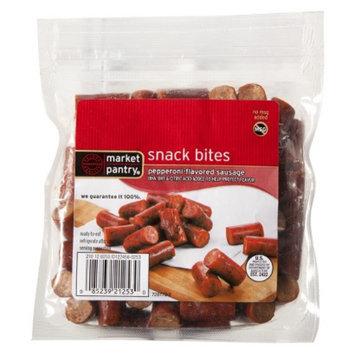 market pantry Market Pantry Pepperoni Flavored Sausage Snack Bites 8 oz