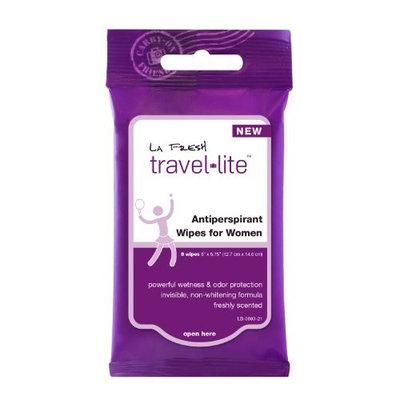 La Fresh Travel LiteTM Antiperspirant Wipes for Women, 8 Wipes