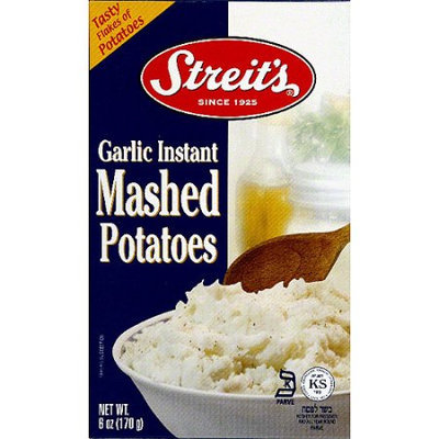 Generic Streit's Garlic Instant Mashed Potatoes, 6 oz, (Pack of 12)