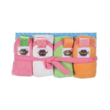 Taggies Washcloth Set (Girl)