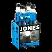Jones Soda Blue Bubblegum Flavor - 4 CT