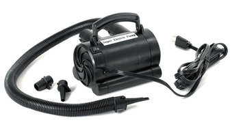 Swim Time Swimline 110 Volt Electric Pump with Adapters for Inflatables