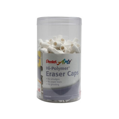 Pentel Hi-Polymer Eraser Caps