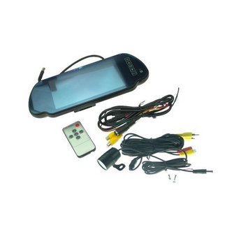DDCRVC 7in TFT LCD Car Rear View Monitor & 1/3in Color CMOS 420TVL Camera AC-29L