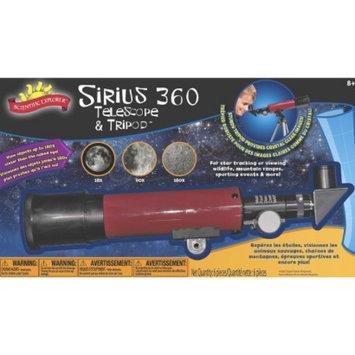 Alex Brands Scientific Explorer 0SA400BL Sirius 360 Telescope and