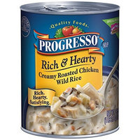 Progresso Rich & Hearty Soup, Creamy Chicken Wild Rice, 18.5-Ounce Cans (Pack of 12)