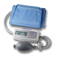 LifeSource UA-704VL Mini Manual Inflate Blood Pressure Monitor with Large Cuff