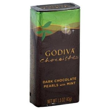 Godiva Dark Chocolate Mint Pearls, 1.5000-ounces (Pack of 6)