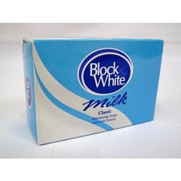 Block and White Milk Classic Whitening Soap 120g Bar