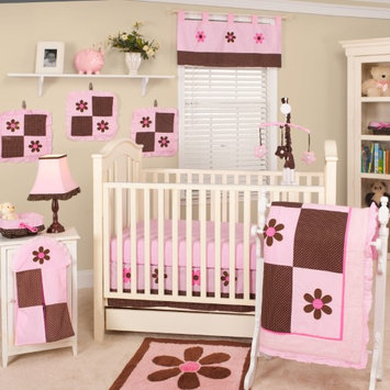 Pam Grace Pams Petals 10-piece Crib Bedding Set