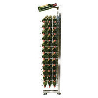 Vintageview 117 Bottle Wine Rack Finish: Black