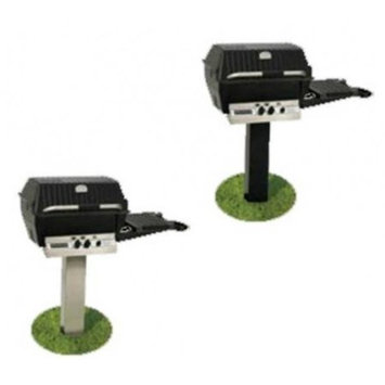 Broil-mate Broilmaster BL48G Black Painted Steel In-Ground Post