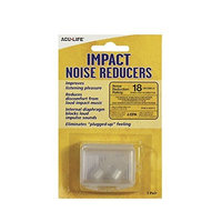 Acu-Life Impact Noise Reducers Ear Plugs Sound Filter Ear Plugs