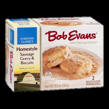 Bob Evans Homestyle Sausage Gravy & Biscuits - 2 CT