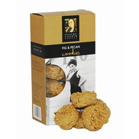 Byron Bay Cookies, Fig and Pecan, 4.2-Ounce Boxes (Pack of 6)