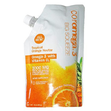 Coromega Big Squeeze Omega-3 with D3