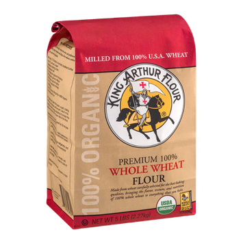 King Arthur Flour 100% Organic Whole Wheat Flour