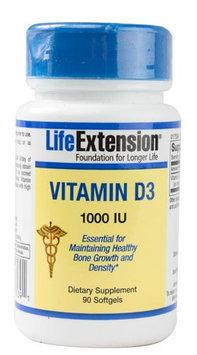 Life Extension Vitamin D3 1000 IU - 90 Softgels
