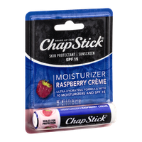 ChapStick Skin Protectant / Sunscreen SPF 15 Raspberry Creme