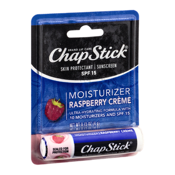 Slide: ChapStick® Skin Protectant / Sunscreen SPF 15 Raspberry Creme