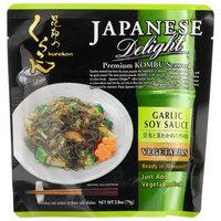 Japanese Delight Premium Kombu Seaweed, Garlic Soy Sauce, Vegetarian, 2.8-Ounce Pouches (Pack of 10)