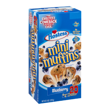 Hostess Mini Muffins Blueberry - 5 CT