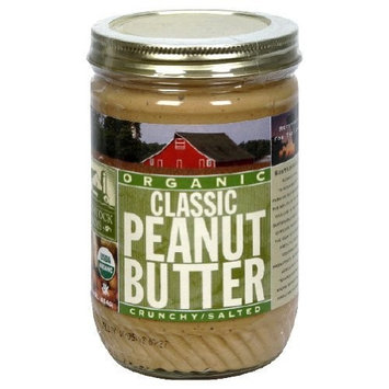 Woodstock Farms Woodstock Organic Classic Crunchy Peanut Butter 16 oz. (Pack of 12)