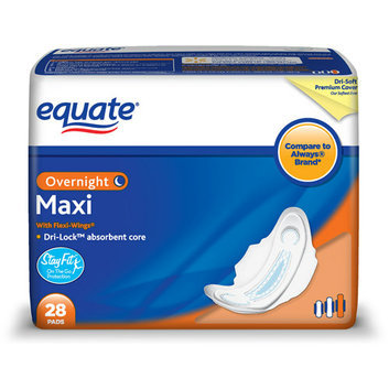 Equate Pads Overnight Wings