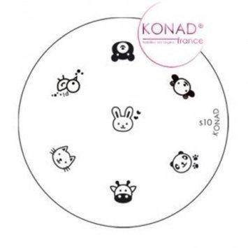 Konad Nail Art Konad Stamping Nail Art Image Plate - S10