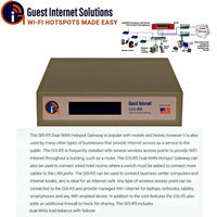 Guest Internet Solutions: GIS-R5 Internet Gateway for Business Hotspots