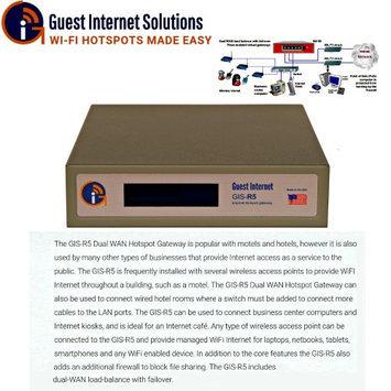 Guest Internet Solutions: GIS-R5 Internet Gateway for Business Hotspots