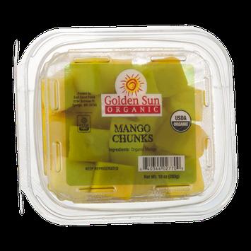 Golden Sun Organic Mango Chunks