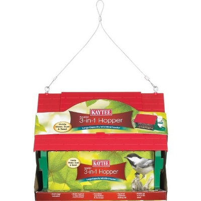 Kaytee Songbird 3-In-1 Hopper Feeder (Discontinued by Manufacturer)